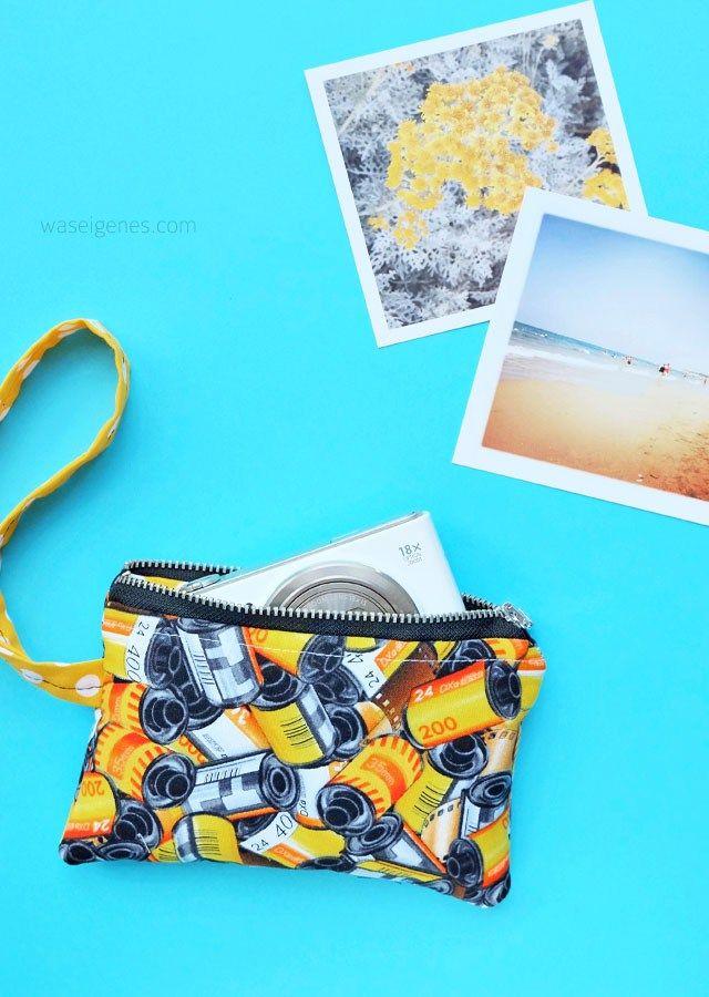 kameratasche mit ring zipper pinterest kamerataschen selber machen n hen und stoffkorb. Black Bedroom Furniture Sets. Home Design Ideas