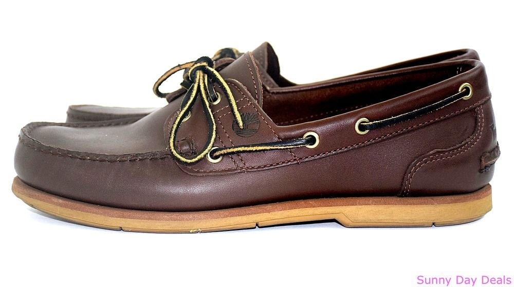 Timberland Mens Boat Shoes Loafer Earthkeepers Moc 2 Eye
