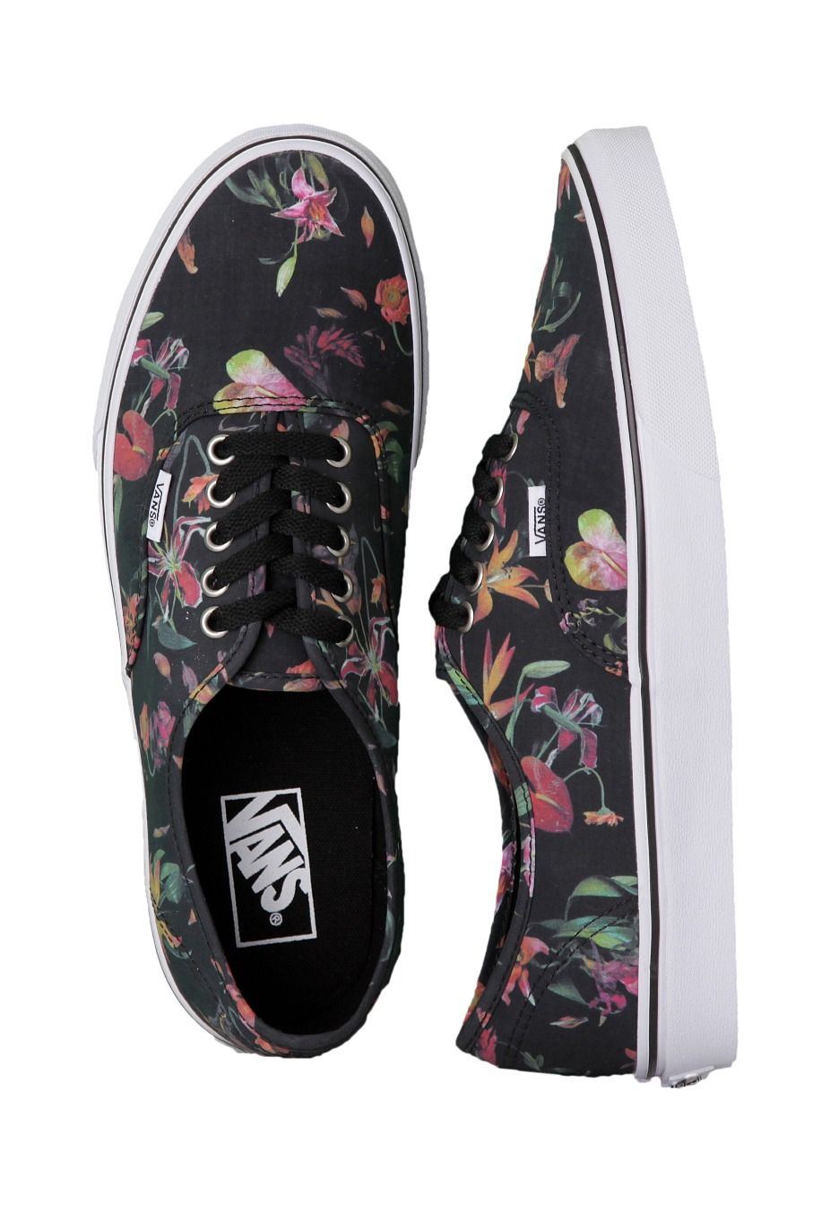 e1dc215bb7 Vans - Authentic Black Bloom Black True White - Schuhe - Vans - Offizieller  Streetwear Online Shop - Impericon.com
