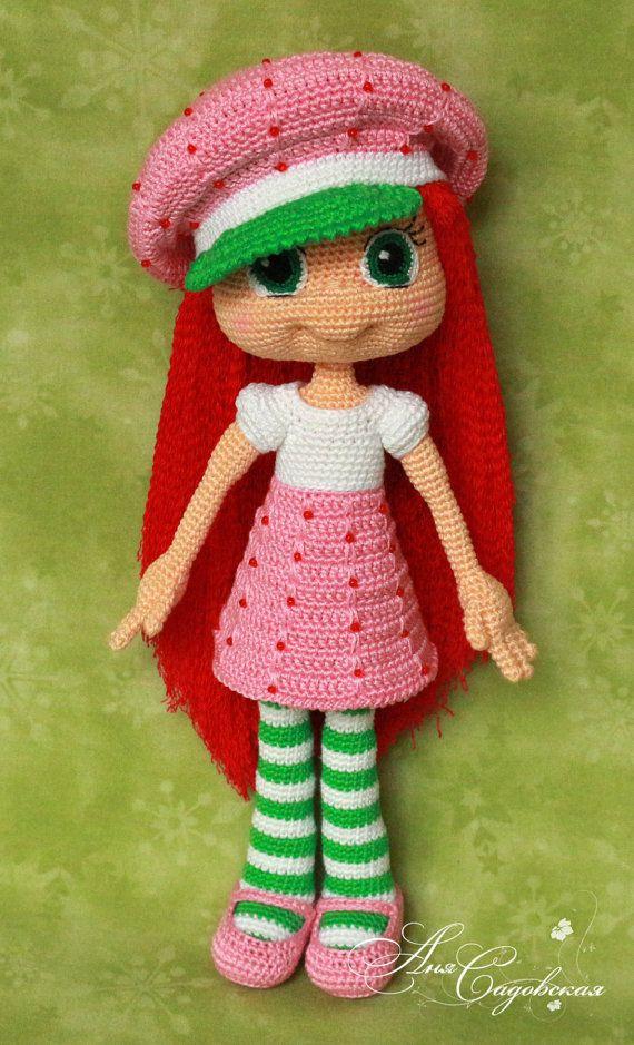 Strawberry Shortcake - Amigurumi Crochet Doll Pattern PDF file by ...