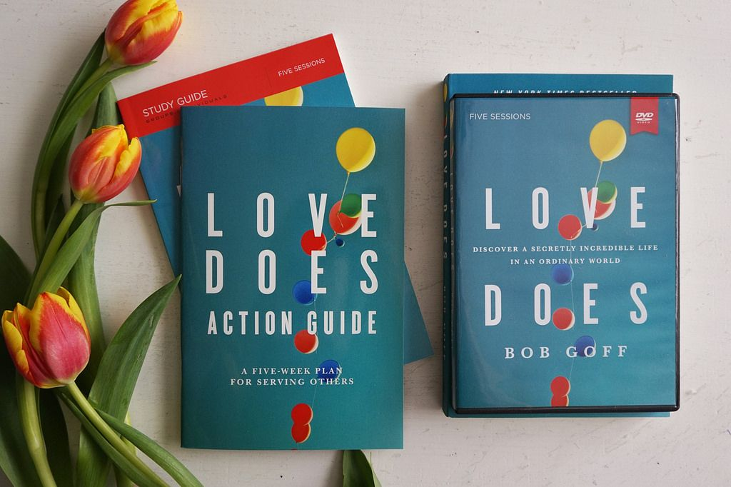 The Love Does Bible study is a study about God's love… and the most amazing thing about that is God's love is different. It changes things. It's active. It works. It risks. God's love… does.   This dynamic five-week study explores a different aspect of God's active love as seen through the stories of Bob Goff. Five video sessions expand on Bob's teaching in the bestselling book of the same name, combing teaching elements with interactive creative elements.