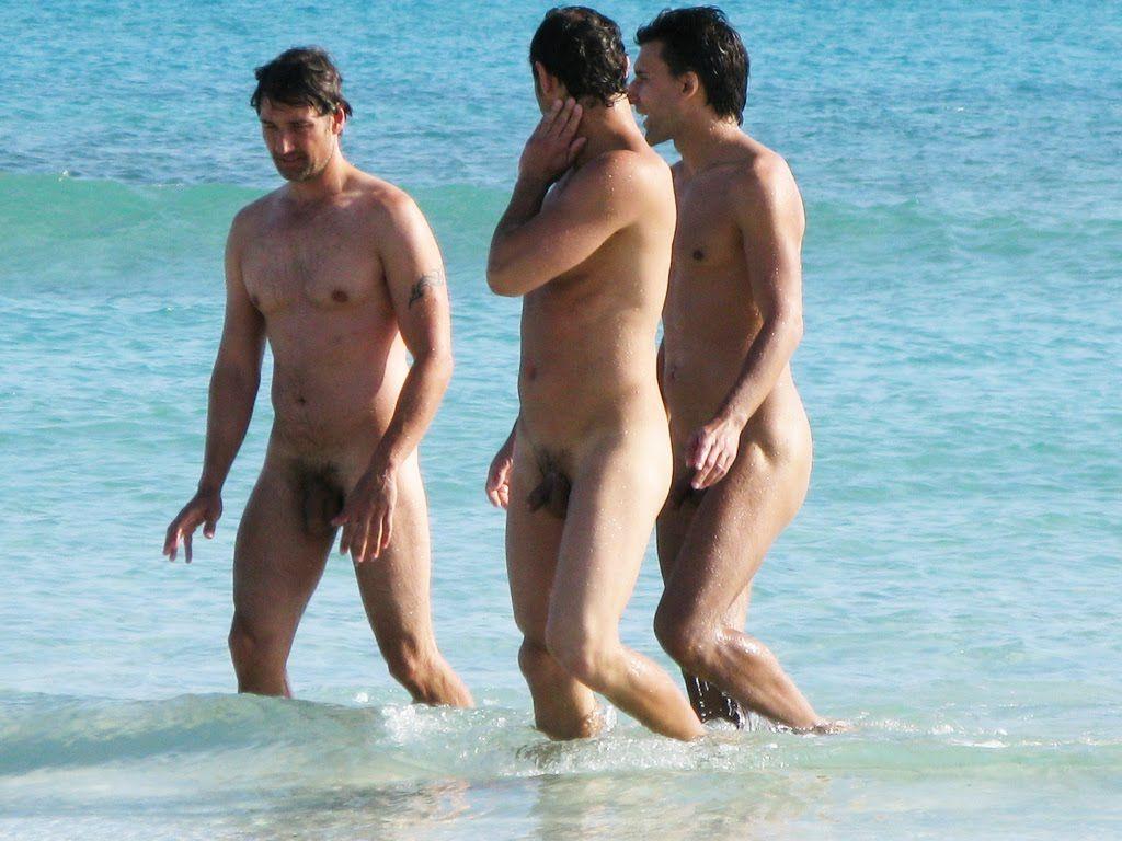 Nude beach nude men cannot
