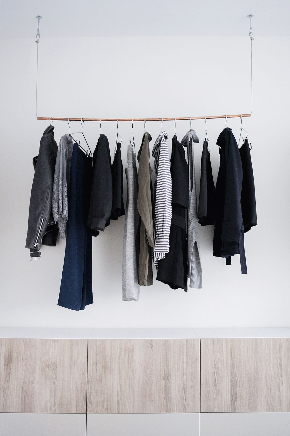 this with home diy clothes on hanging hang your decor rack