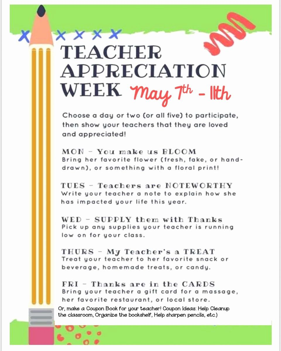 Teacher Appreciation Week Card in 2020 (With images