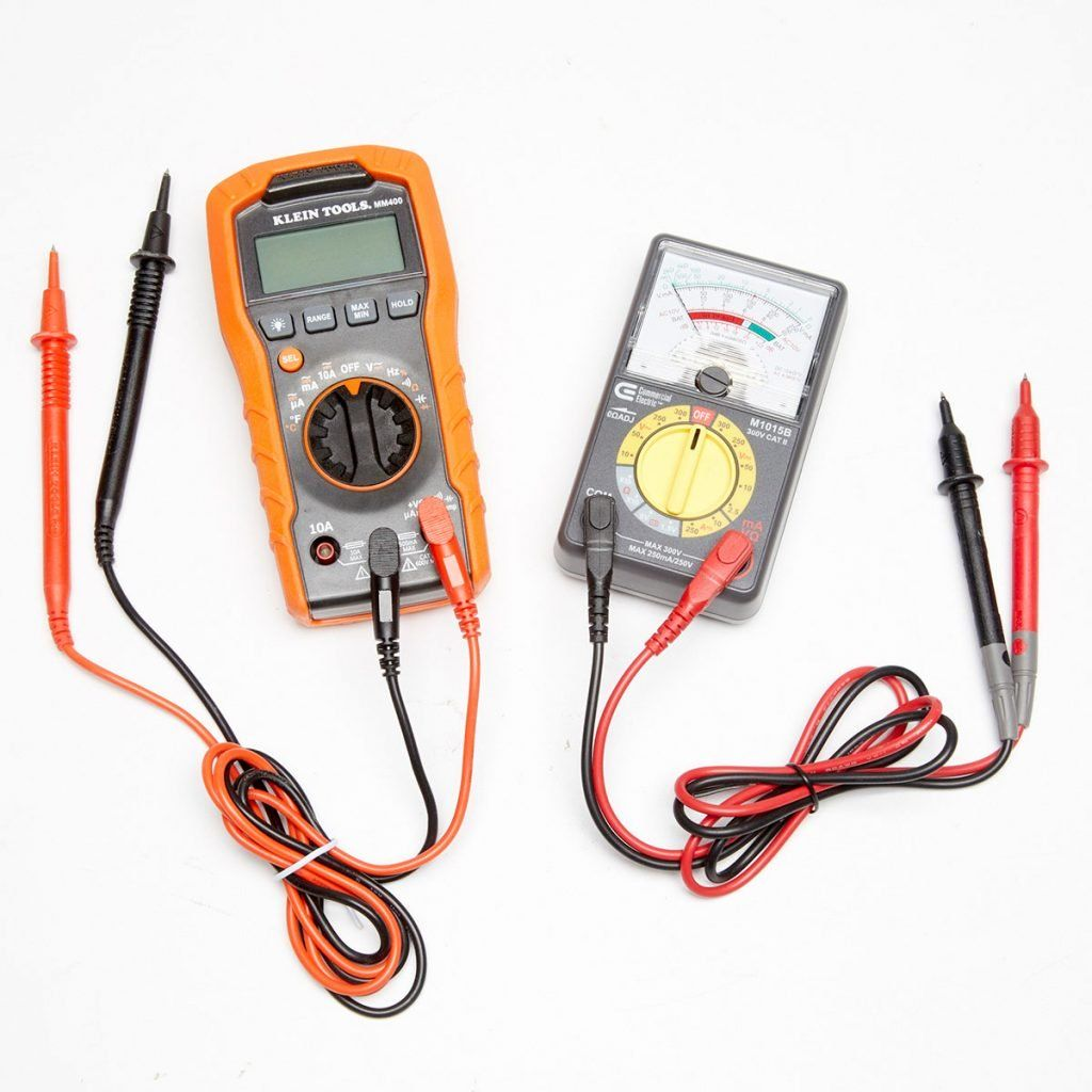 A Guide To Multimeters And How To Use Them Diy Electrical Home Electrical Wiring Electrical Tools