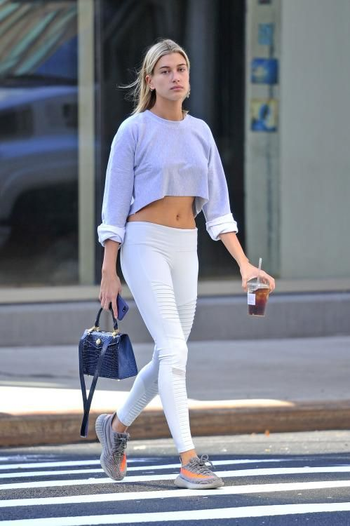 c48352516a00d8 Hailey Baldwin wearing Ethan K Alla Bag