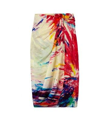 Figue Amazon Tie Dye Pareo/Scarf (this could double as a swimsuit cover-up!)