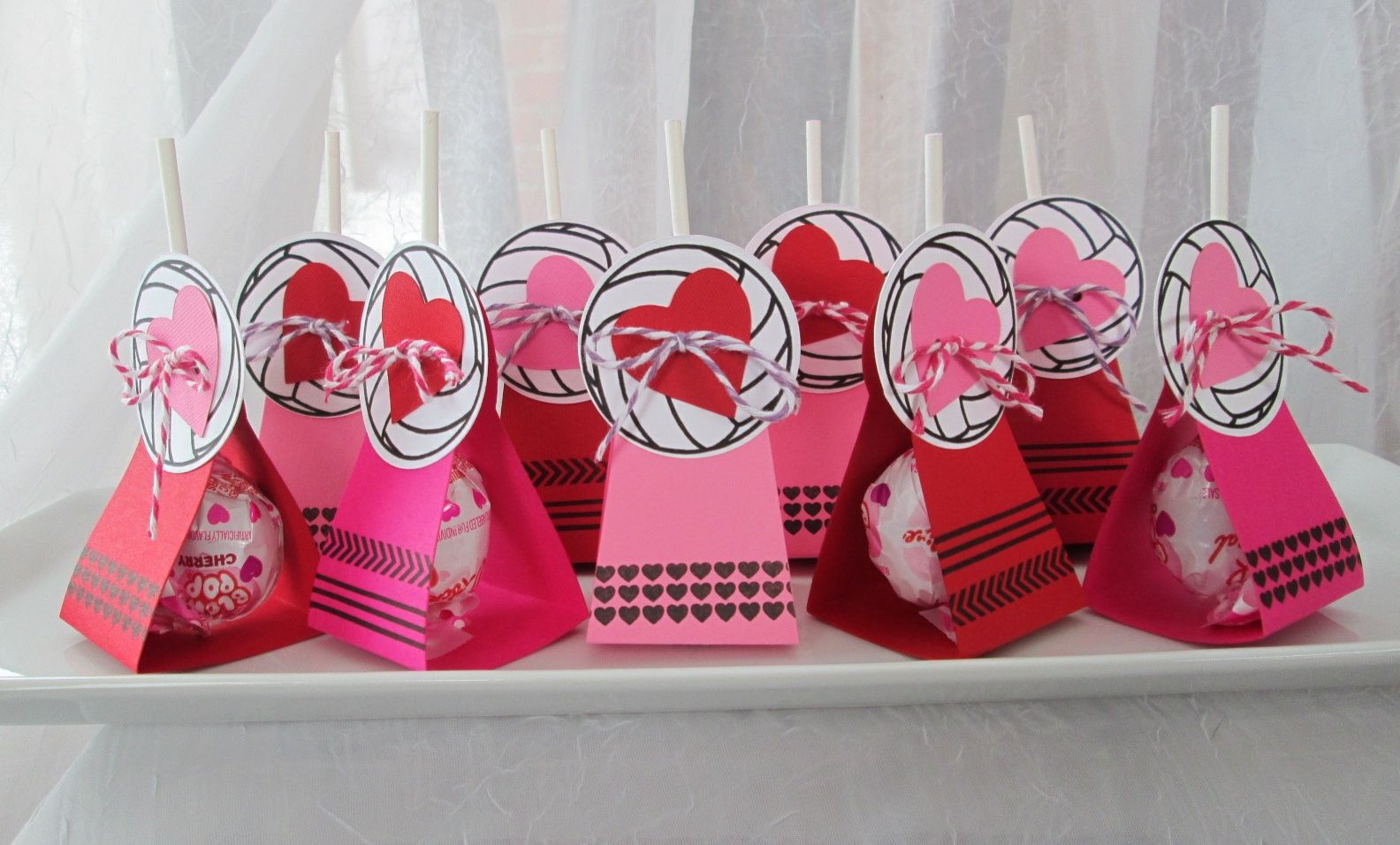 Valentine S For The Volleyball Team Volleyball Player Gifts Volleyball Gifts Volleyball Crafts