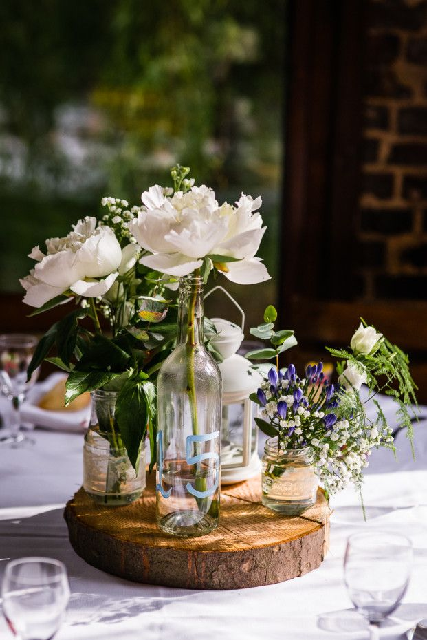 decoration mariage table champetre