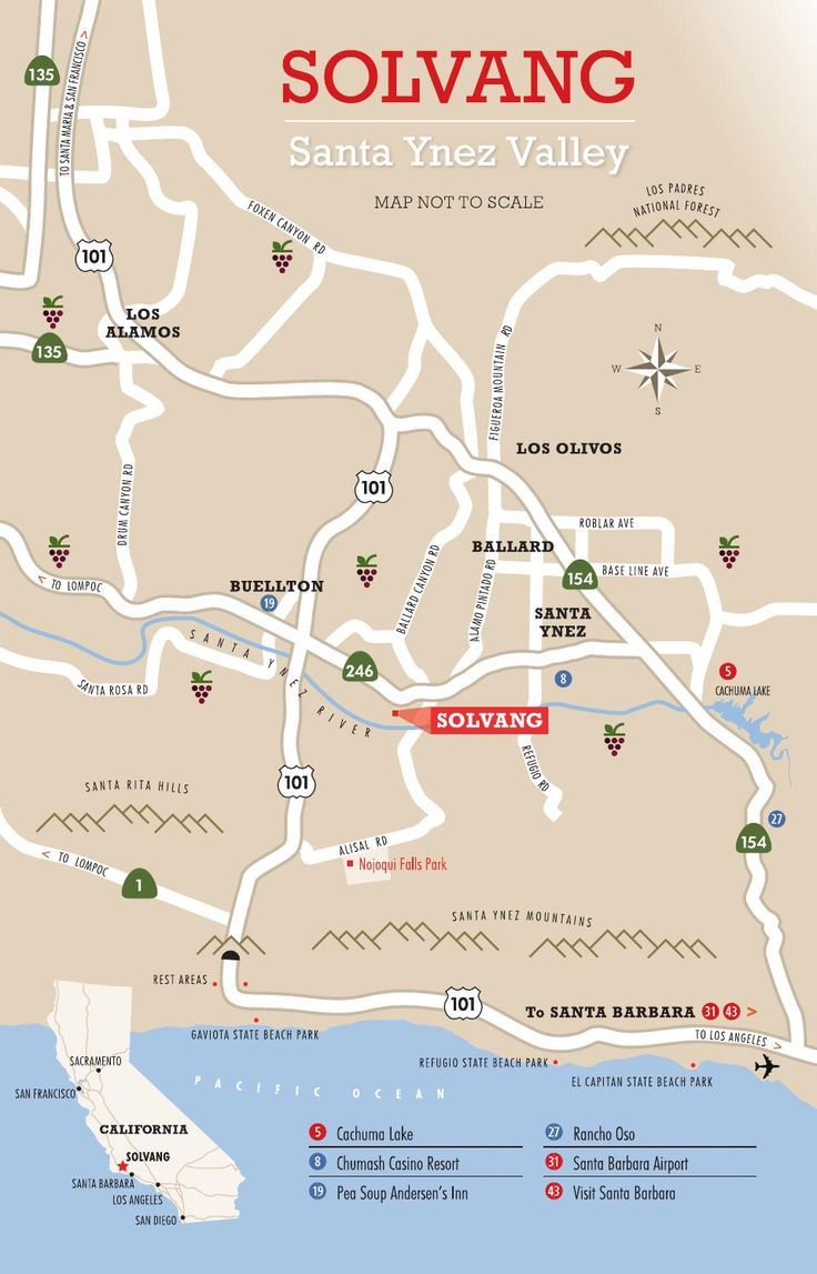 2015 Solvang Visitor Guide With Map By Solvang Conference Visitors