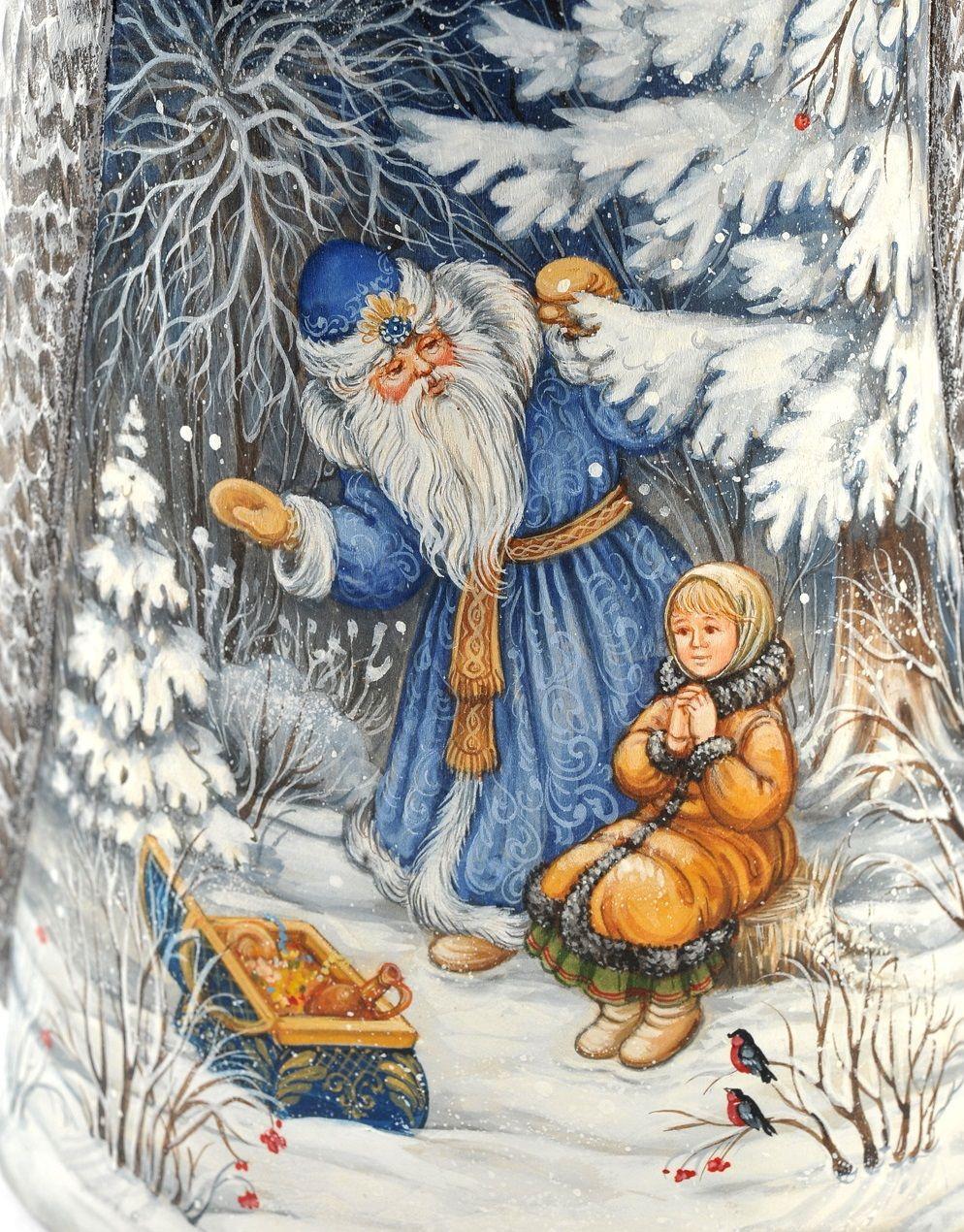 Картинки русских сказок зимних