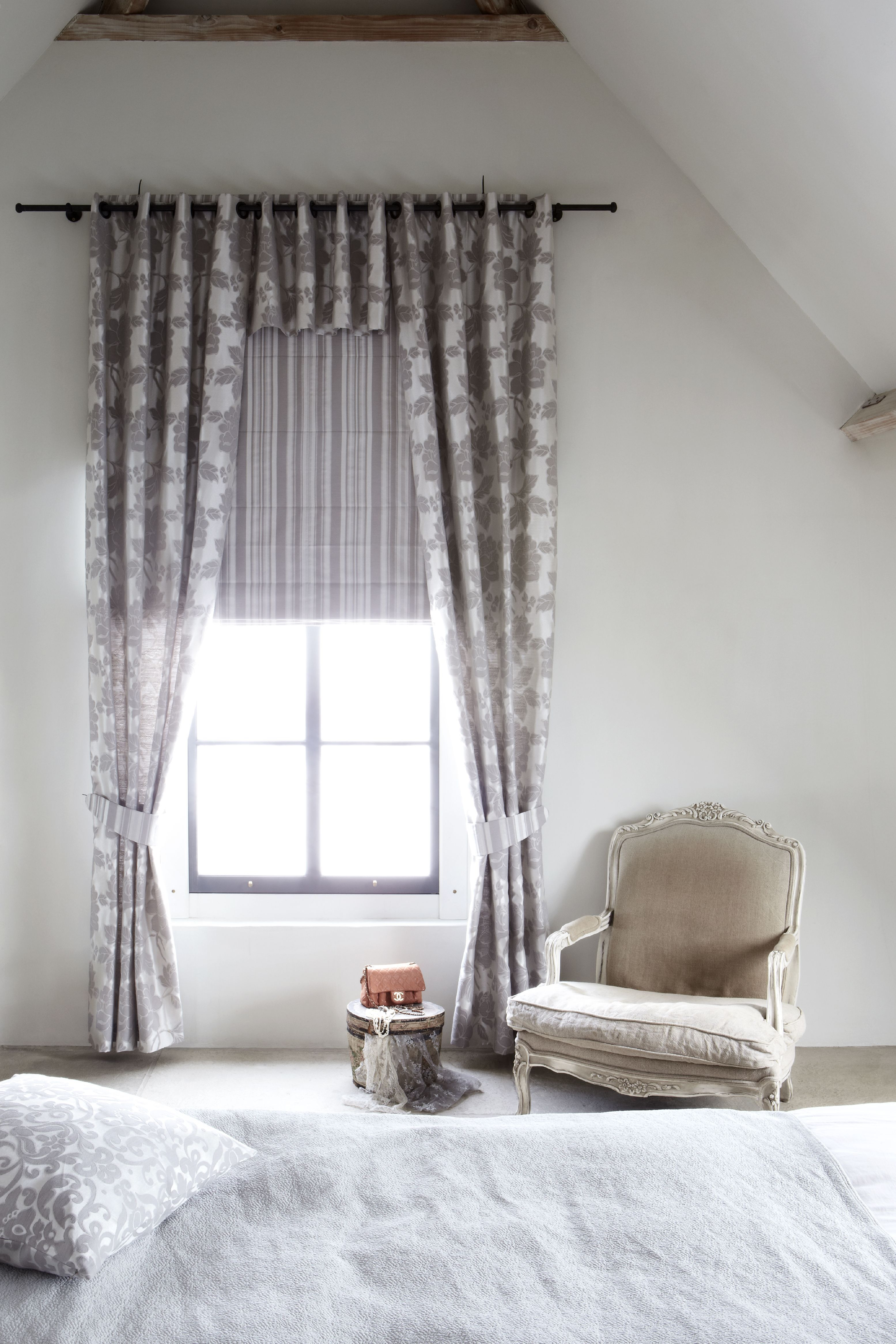 Check Out The Chic Valance Grommet Panels Fabric Abbey
