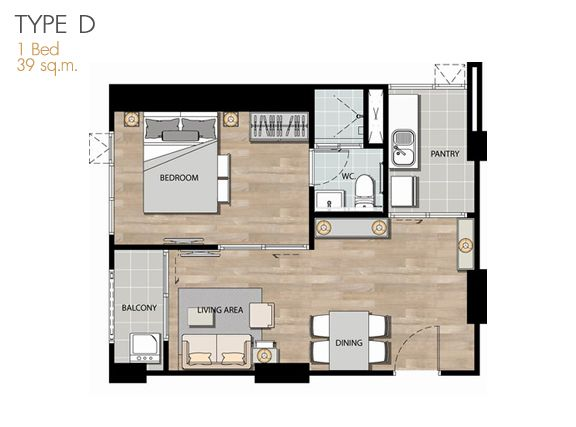 Aspire rama 4 roomtype think space condominium plan aspire rama 4 roomtype think space malvernweather Image collections