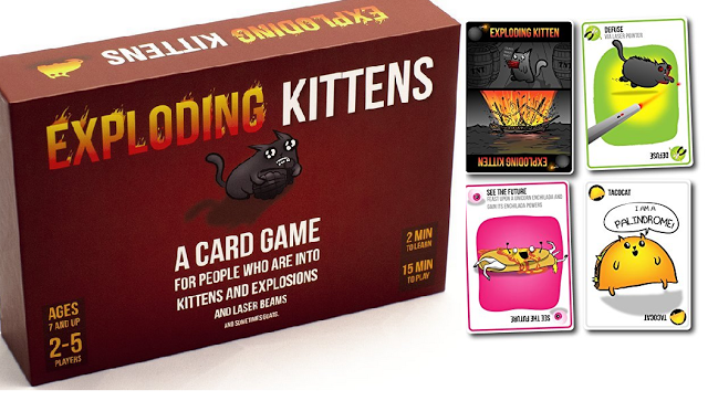 This Exploding Kittens Game Is Pretty Great My Family Hasn T Had