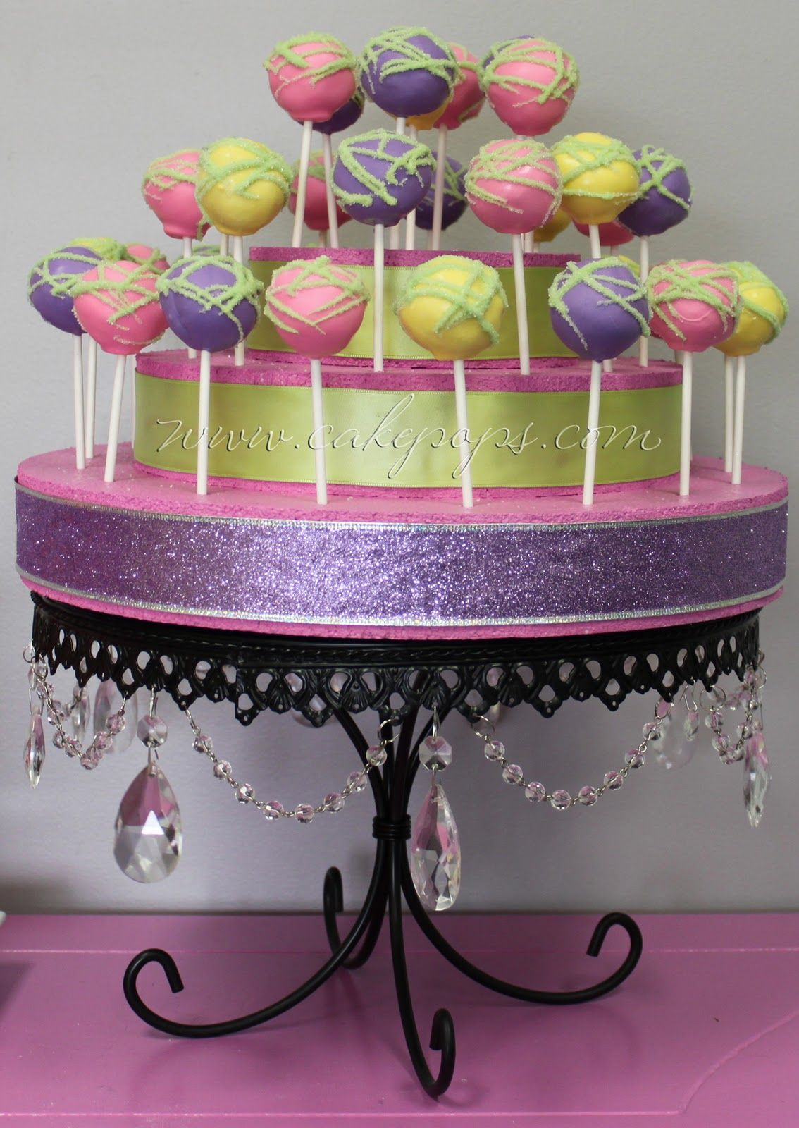 Candy S Cake Pops More Cake Pop Party Displays Cake