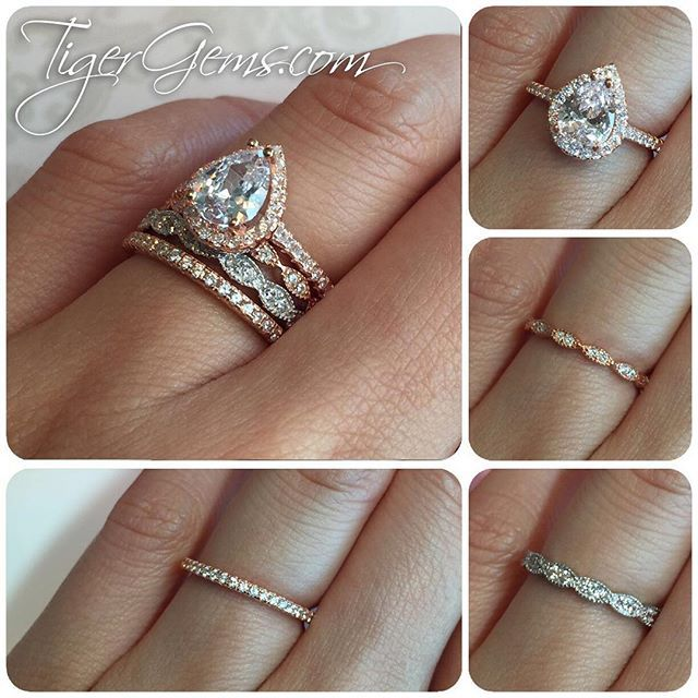Yes or no This gorgeous ring stack includes the 1 5 ctw classic