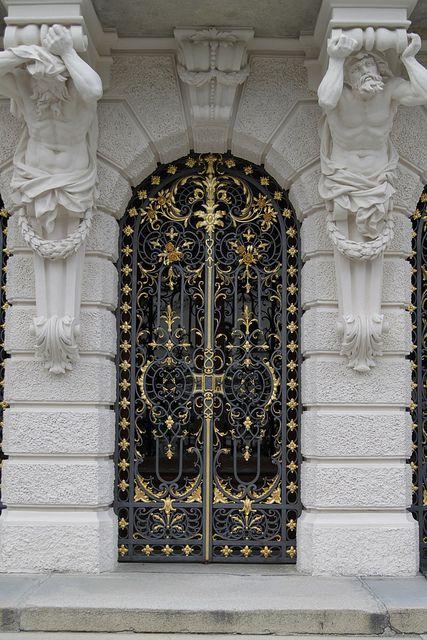 Schloss Linderhof Germany Gorgeous Doors Cool Doors Unique Doors