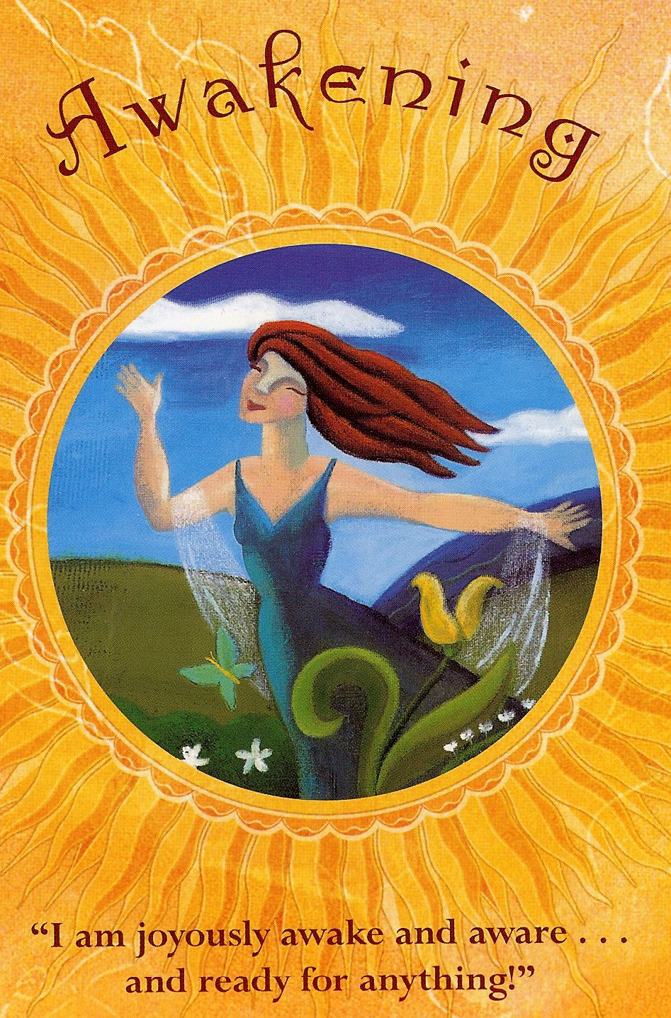 Awakening angel cards reading oracle cards angel