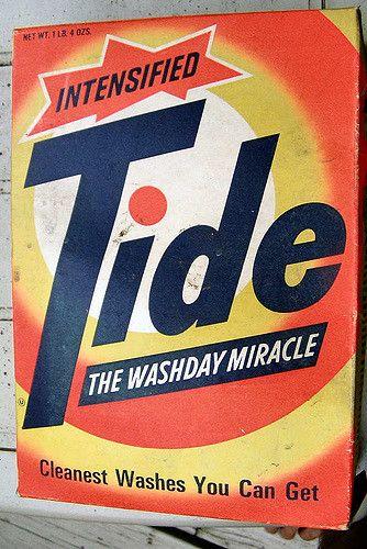 1960s Tide Box Vintage Laundry My Childhood Memories Childhood