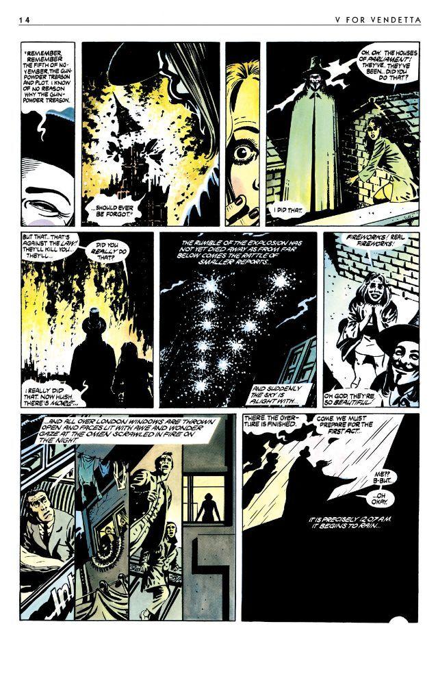 V For Vendetta Comics By Comixology V For Vendetta Comic V For Vendetta Vendetta