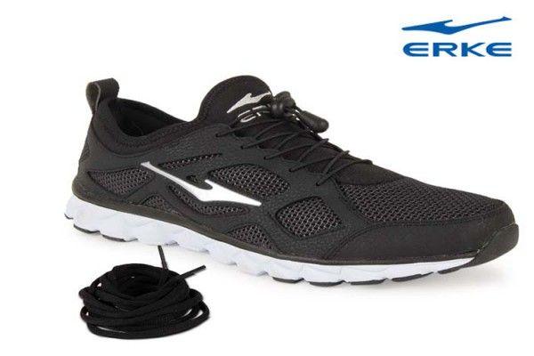 quality design e1f3b 4cfe1 Erke Men Tough Black Running Shoes - Buy Erke Men shoes ...