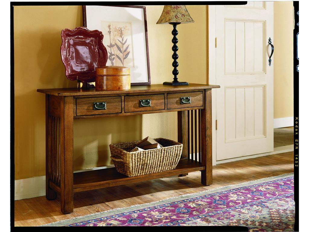 Hammary Living Room Sofa Table  Kd T00013 T01389 00   Wright Furniture U0026