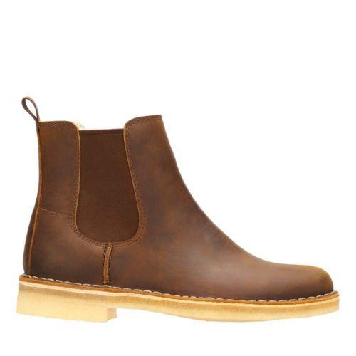 mujer para Desert negros Clarks Boot Zapatos Sq6OwXfxa