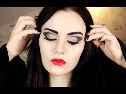 morticia addams makeup tutorial by emma pickles i just. Black Bedroom Furniture Sets. Home Design Ideas