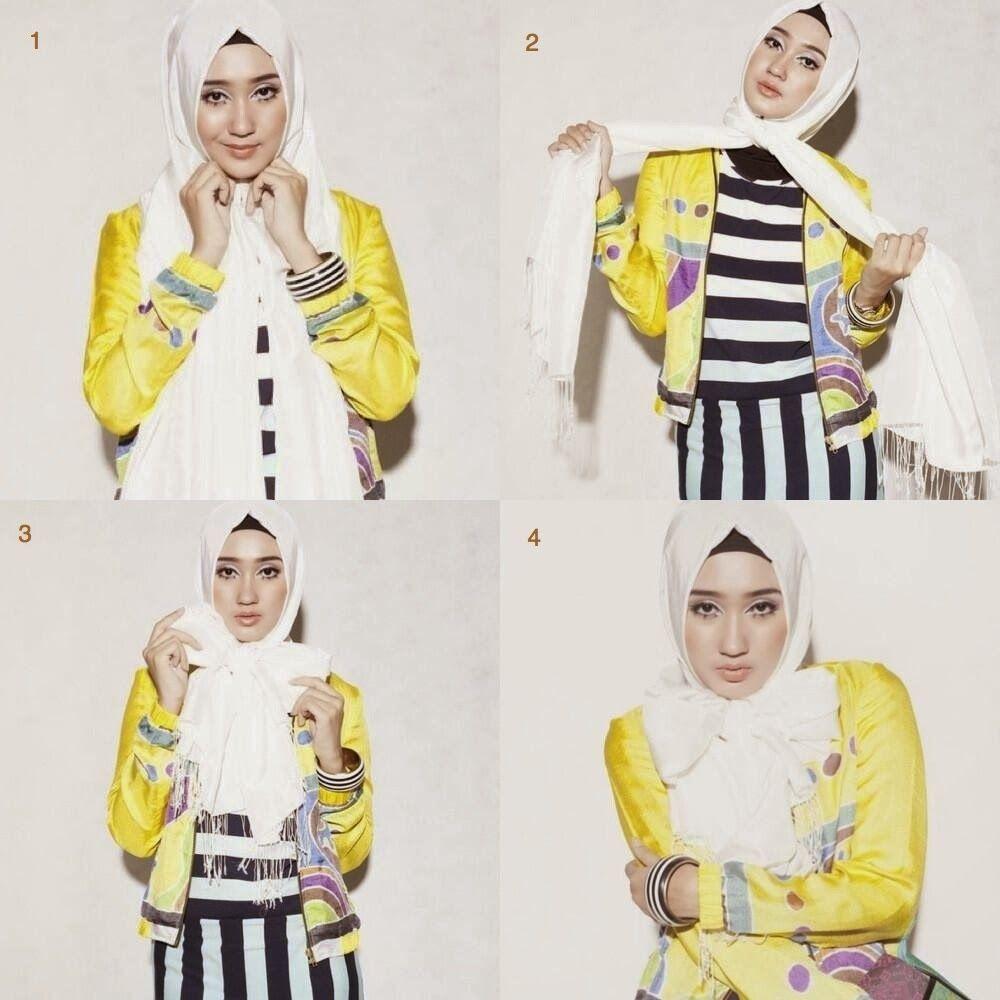 pintar pakai jilbab: tutorial hijab simpel ala dian pelangi | hijab