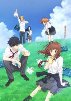 """Ao Haru Ride  Yoshioka Futaba has a few reasons why she wants to """"reset"""" her image and life as a new high-school student. Because she's cute and had a demure personality she was ostracized by her female friends in junior high, and because of a series of misunderstandings and mishaps, she couldn't get her feeling across to the one boy she has always liked, Tanaka Kou.  Will Futaba be able to continue her love that never even started from three years ago?"""
