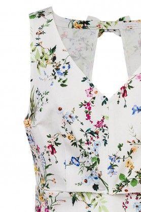 robe fleurie naf naf 2017