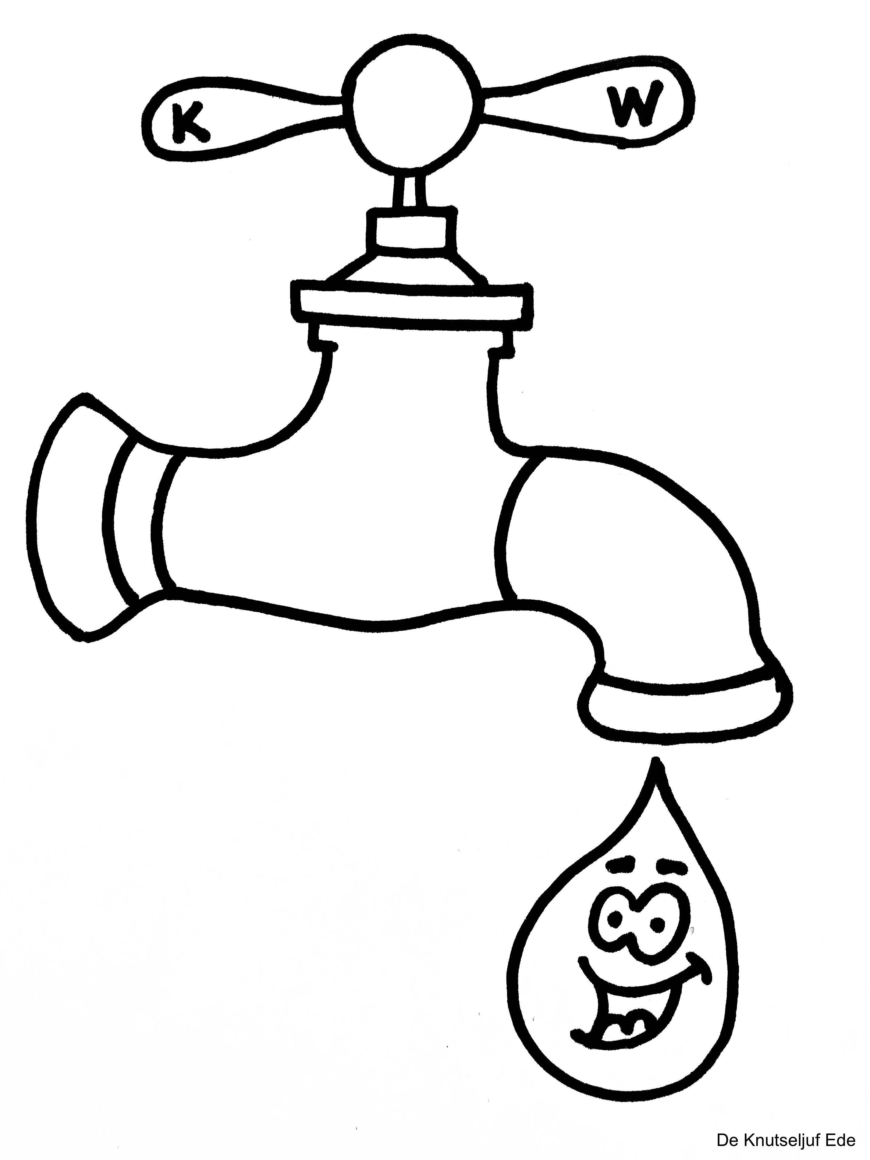 Op Wereldwaterdag Jaarlijks Op 22 Maart Is Er Speciale Aandacht Voor Het Water Kraanwater De Regen Het Water Van Rivieren Knutselen Water Waterfeest Water