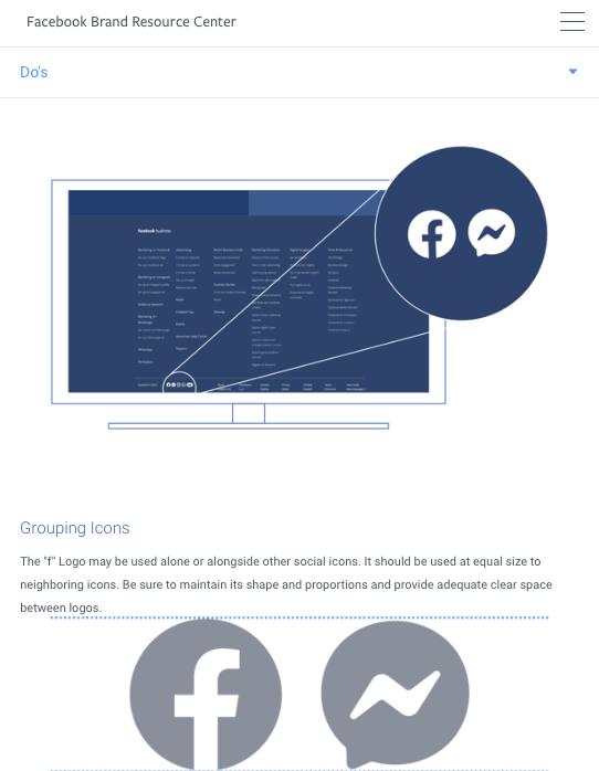 Facebook Brand Resources Guidelines Branding Resources Facebook Brand Social Icons