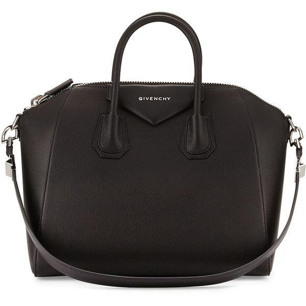 1c63a1d0a9b7 Givenchy Antigona Medium Sugar Goatskin Satchel Bag ( 2