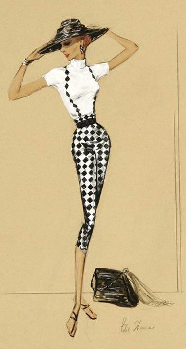 das Outfit in dieser Abbildung ist elegant. Ich liebe die Einfachheit, die durch die schwarz-weißen Farbschema in diesem Outfit zeigt.