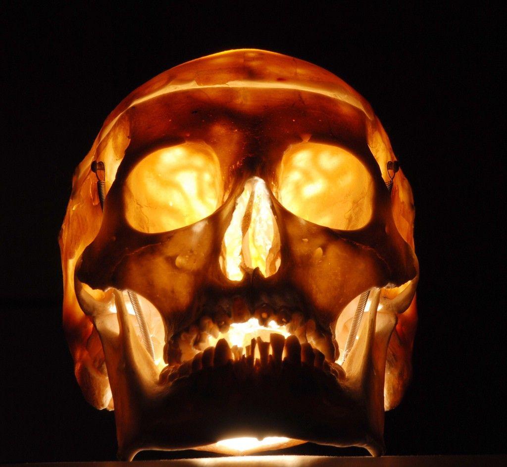 священная картинки светящиеся черепа над входной