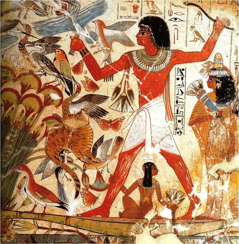 The couples in ancient egyptian art domination