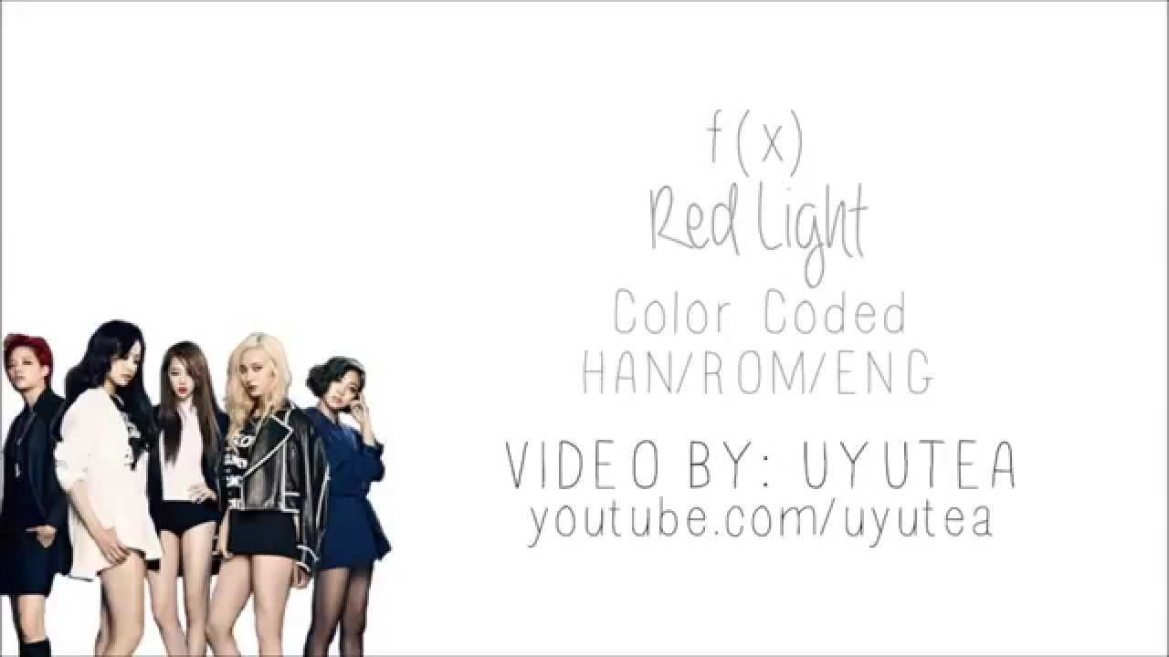 f(x) - Red Light (Color Coded Hangul/Rom/Eng Lyrics)