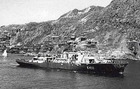 HMCS PETROLIA K498