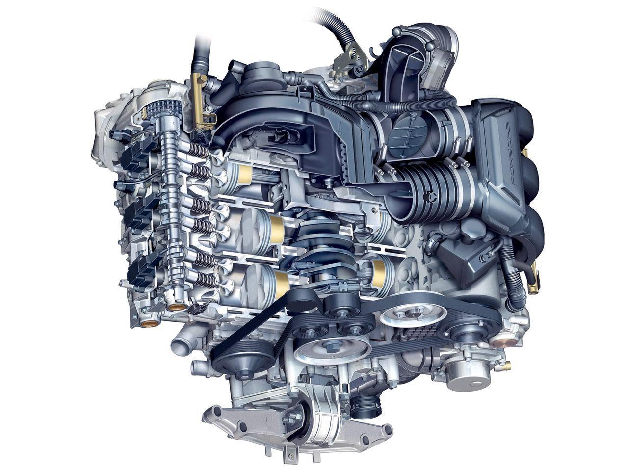 porsche cayman f6 engine porsche pinterest engine cars and rh pinterest com 944 Turbo Engine Diagram Porsche 964 Fuse Box Diagram