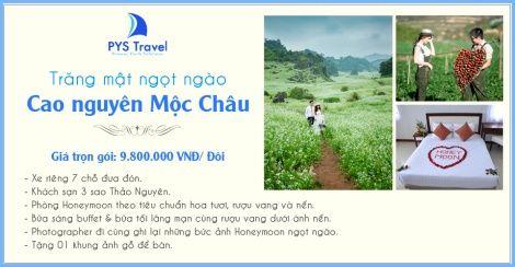 Tour Mộc Châu trăng mật - PYS Travel