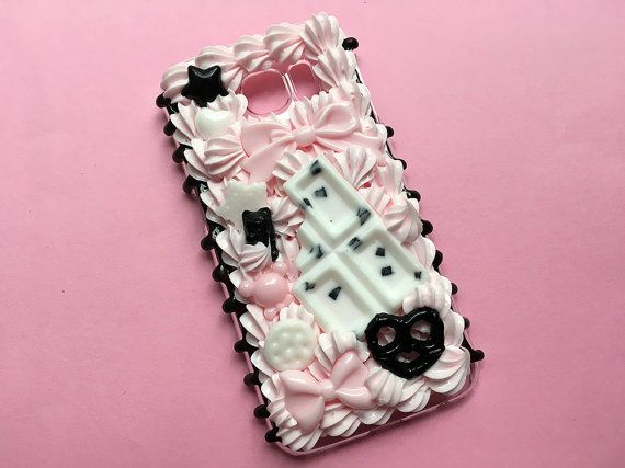 newest 648a1 98d73 Kawaii Decoden Phone Case for Samsung Galaxy S6 / Ready to Ship ...