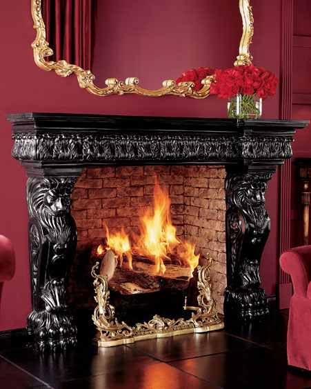 اروع ديكورات دفايات جبس امبورد خطيرة جدا Decor Fireplace Home Decor