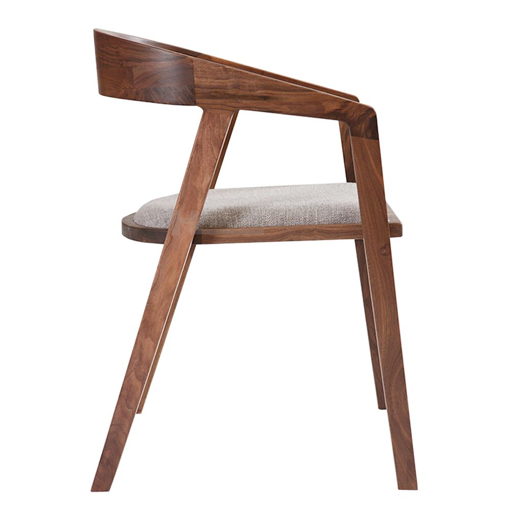 New Design European Style Wooden Cafe Chair With Cushion,Dining