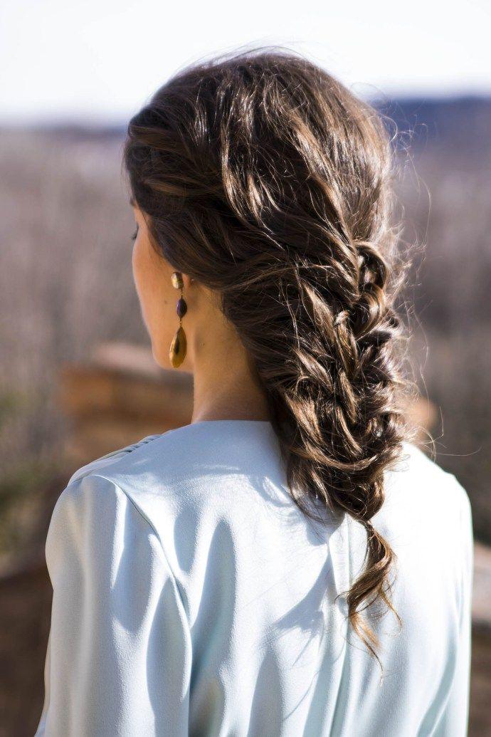 Peinado Trenza Invitada Boda Style En 2019 Hair Hair Styles Y