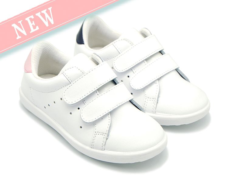 5b94c150 Tienda online de calzado infantil Okaaspain. Zapatilla de piel lavable con  doble velcro para niños y niñas. Diseño y Calidad y precio hecho en España.