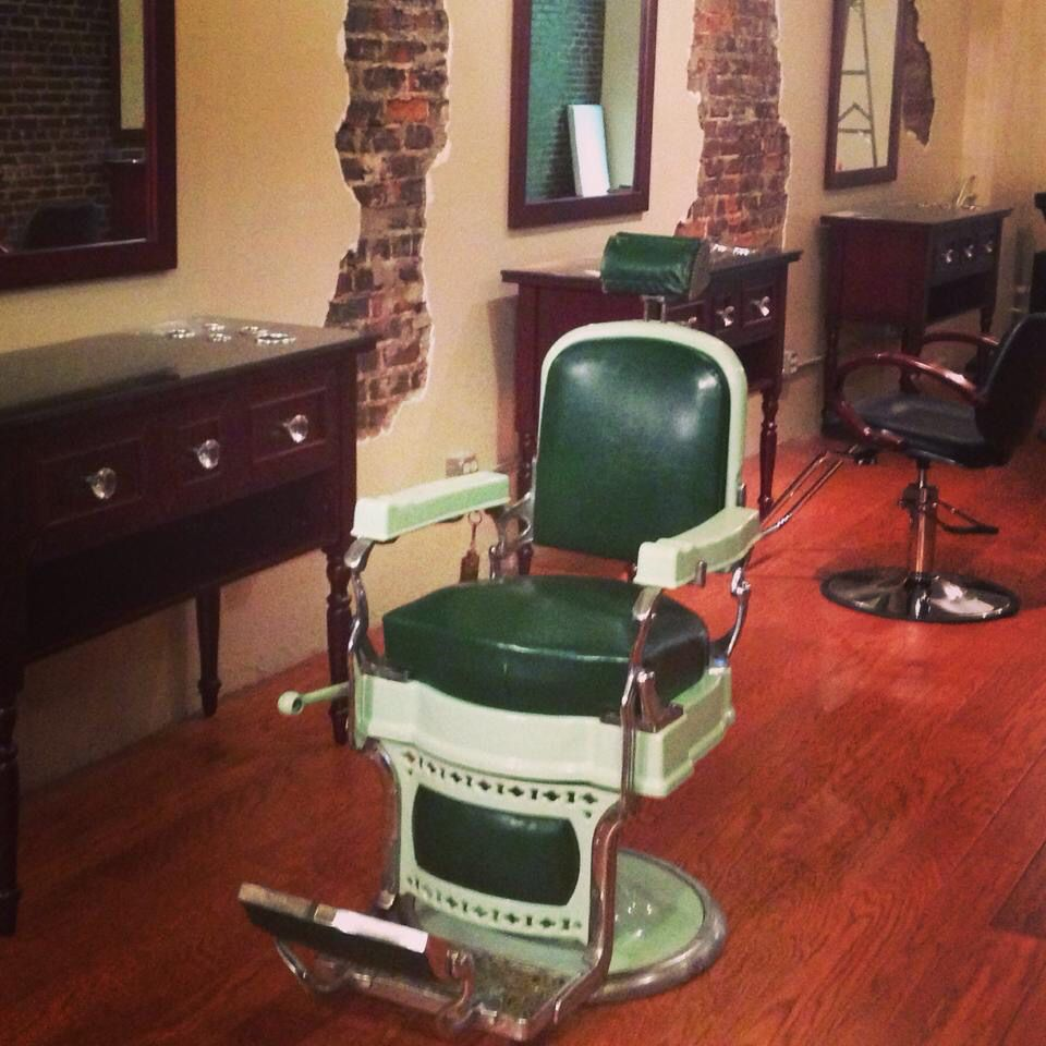 custom restored chair flip chairs infatuate koken antique fascinate for ua popular inspiring barber and step nsyd concept