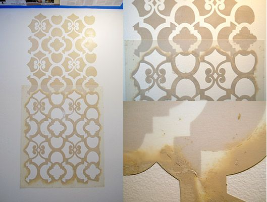 17 Best Images About Decorative Stencil Wall On Pinterest Casablanca  Furniture And Painted Wallpaper. Large