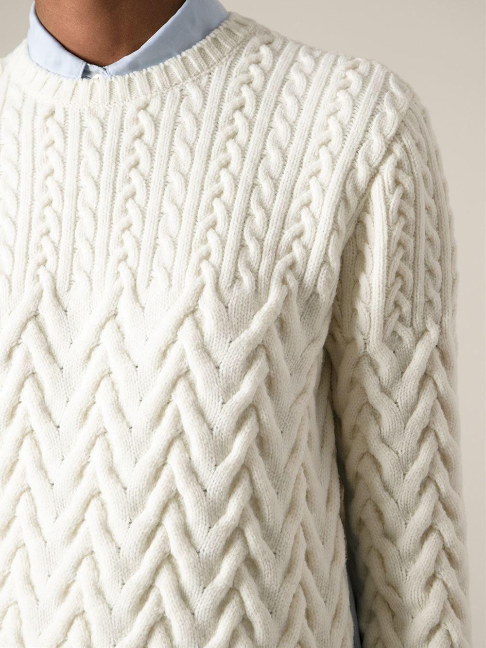 Nº21 Cable Knit Sweater - Spazio Pritelli - Farfetch.com ...