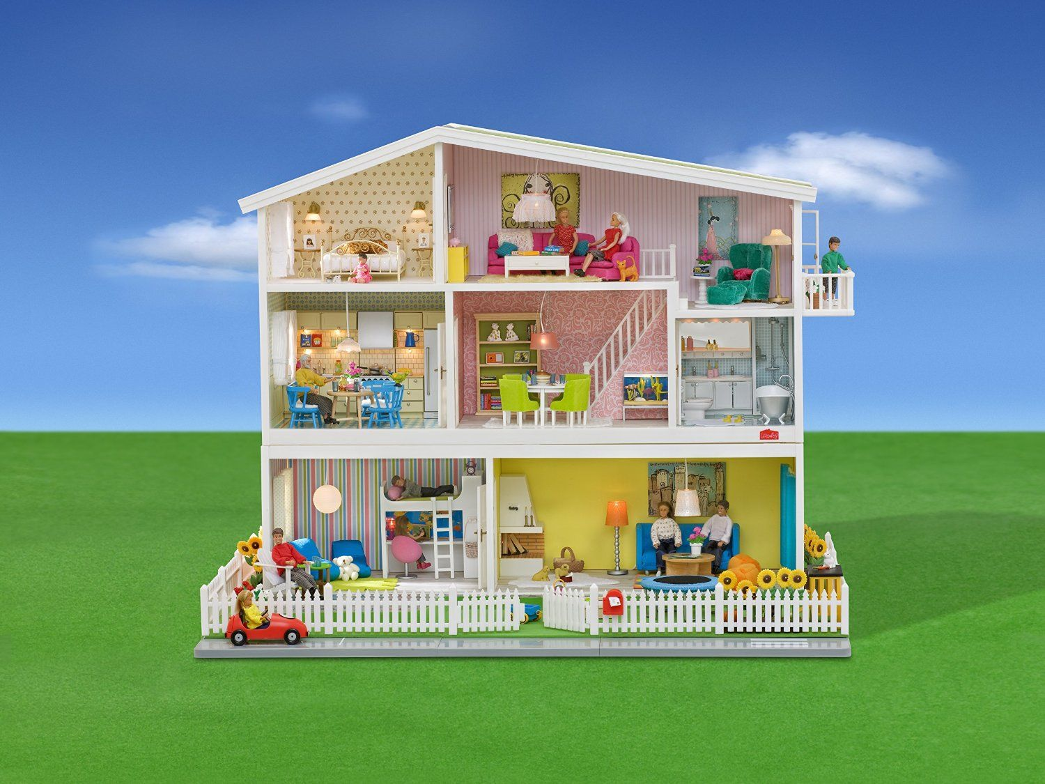 lundby l601008 poup e et mini poup e maison de poup e smaland jeux et jouets. Black Bedroom Furniture Sets. Home Design Ideas